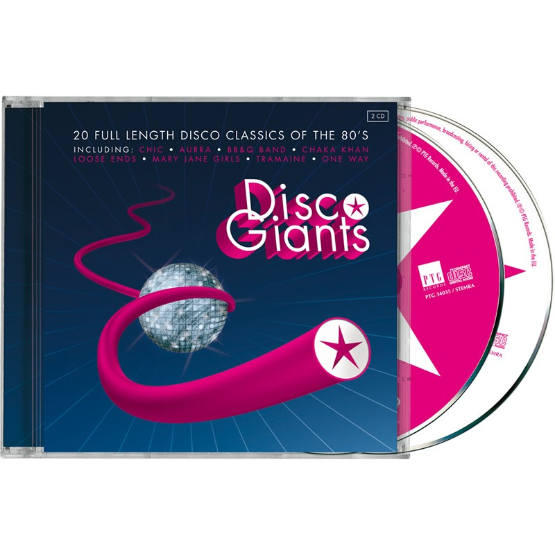 Disco Giants Volume 01 (PTG 2CD)
