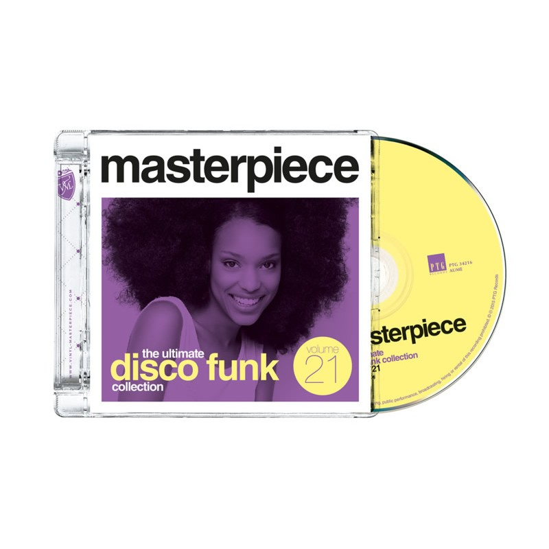 Masterpiece Vol. 21 - The ultimate disco funk collection