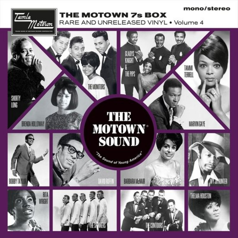 "Motown 7"" Box, Rare and Unreleased Vinyl vol. 4"