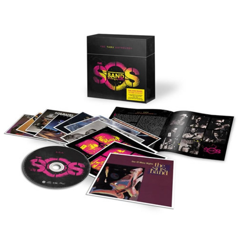 S.O.S. Band - Tabu Anthology 10CD BOX SET