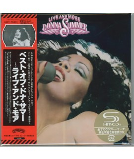 Donna Summer - Live And More (Japan Imp)
