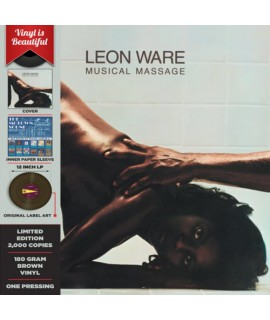 LEON WARE - Musical Massage LP - LTD