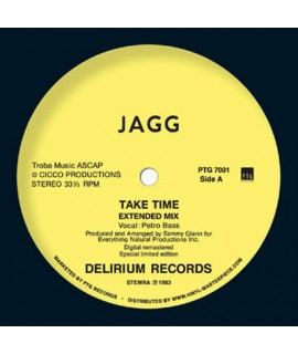 Jagg - Take Time (Vinyl / PTG Records)