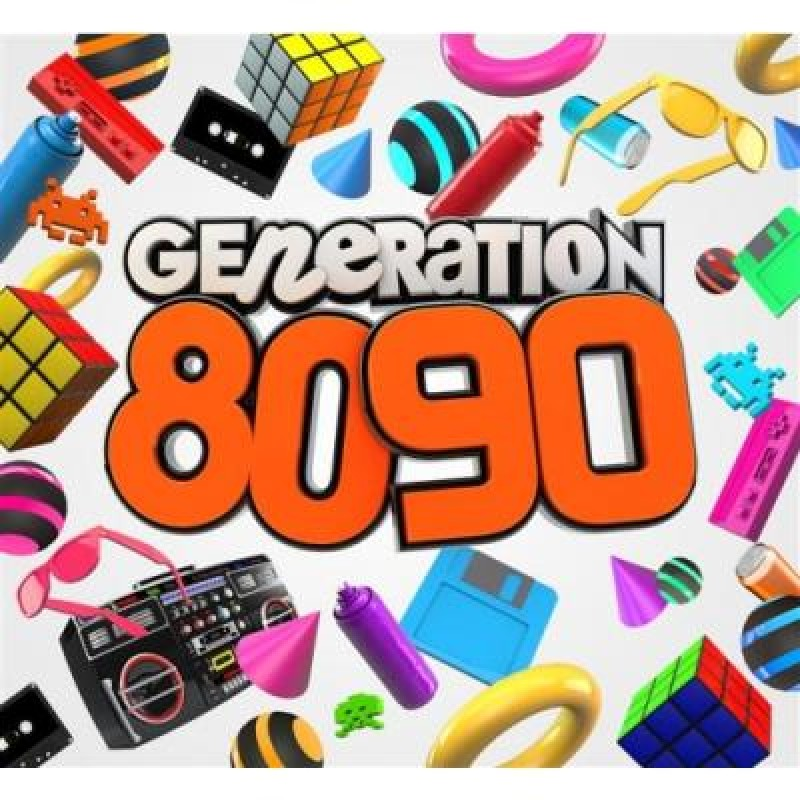 V/A GENERATION 80-90 5CD