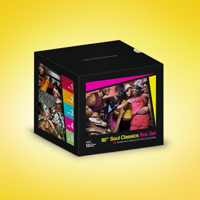 80's Soul Classics BOX SET
