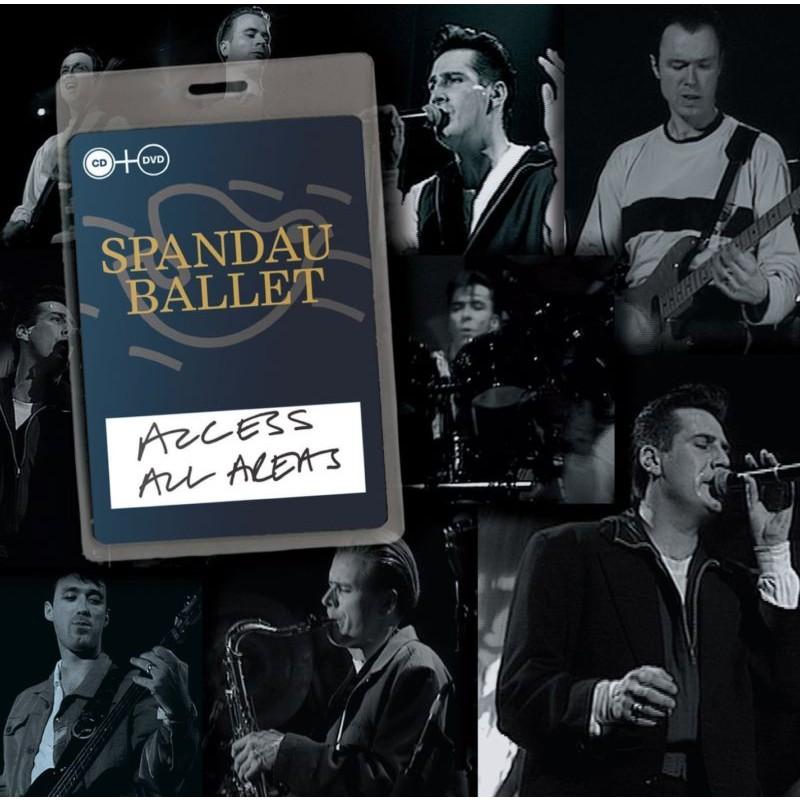 Spandau  Ballet - Access All Areas -Cd+Dvd-