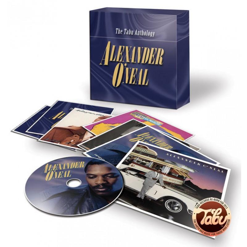 Alexander O'Neal - Tabu Anthology 8 CD BOX SET
