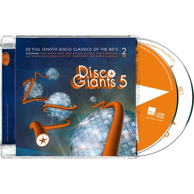 Disco Giants Volume 05 (PTG 2CD)