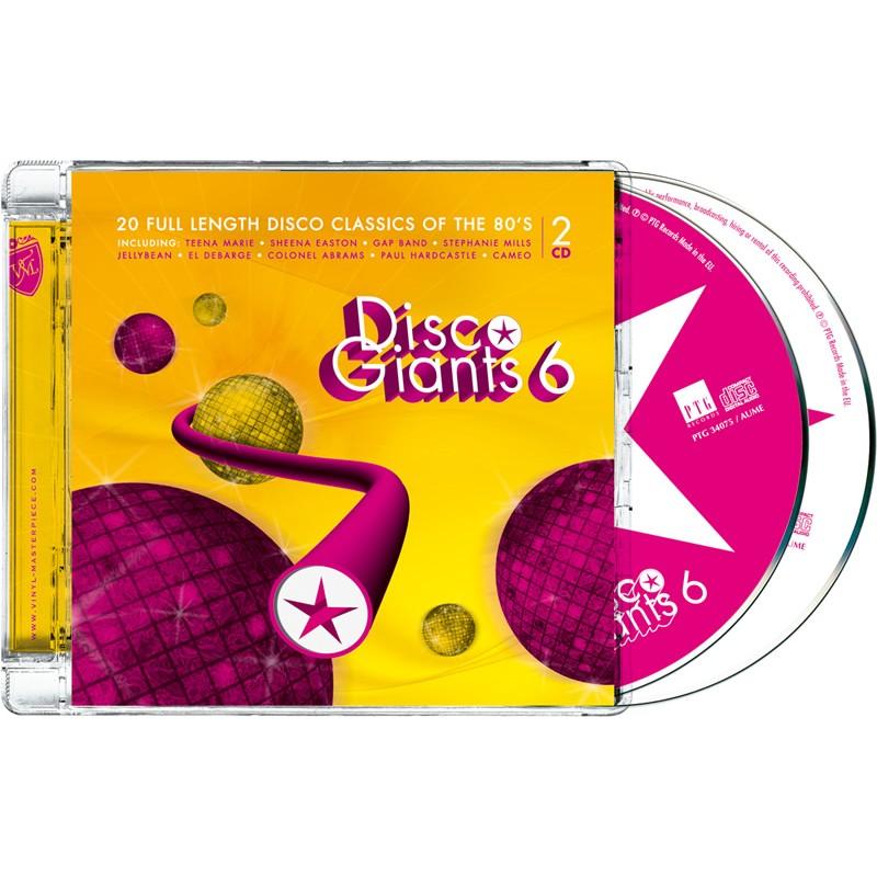 Disco Giants Volume 06 (PTG 2CD)