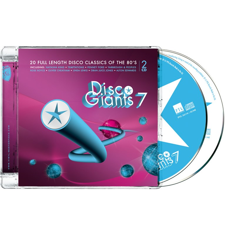 Disco Giants Volume 07 (PTG 2CD)