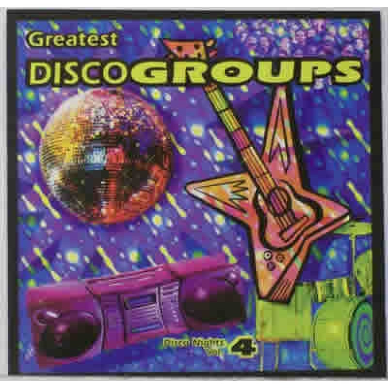 Disco Nights Vol. 4 - Greatest Disco Groups