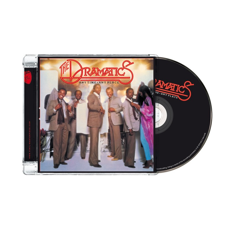 The Dramatics - Anytime, Anyplace (PTG CD)