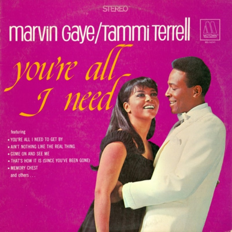 MARVIN GAYE & TAMMI TERRELL - You-re All I Need LP