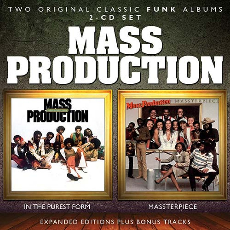 Mass Production - In the Purest Form / Massterpiece 2CD