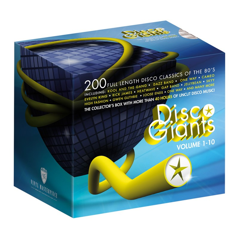 Disco Giants Collectors Box Volume 1 – 10