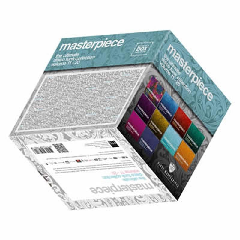 Free Masterpiece Collector Box 11-20 (EMPTY BOX)