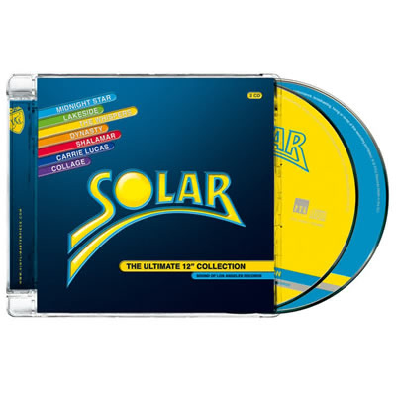 """Solar - The Ultimate 12"""" Collection (PTG CD)"""