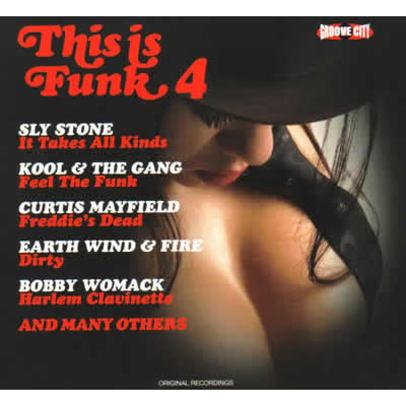 This Is Funk Volume 4 (CD)