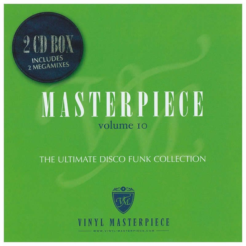 Masterpiece Vol. 10 - The ultimate disco funk collection