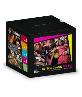 80's Soul classics EMPTY BOX