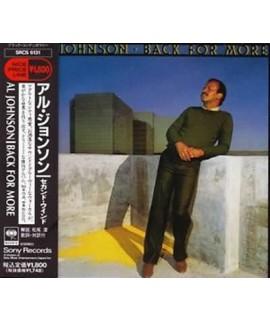 Al Johnson - Back For More (Japan Imp)