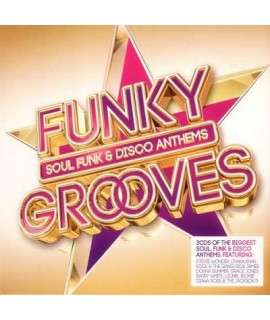 Funky Grooves - Soul Funk & Disco Anthems (3CD)