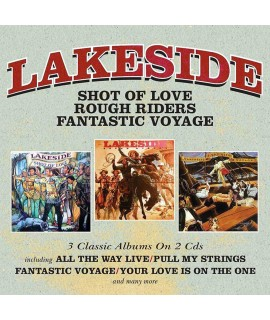 LAKESIDE - SHOT OF LOVE / ROUGH RIDERS / FANTASTIC VOYAGE