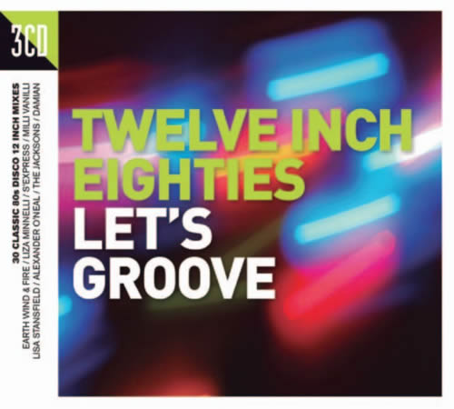 V/A Twelve Inch Eighties: Let's Groove 3CD