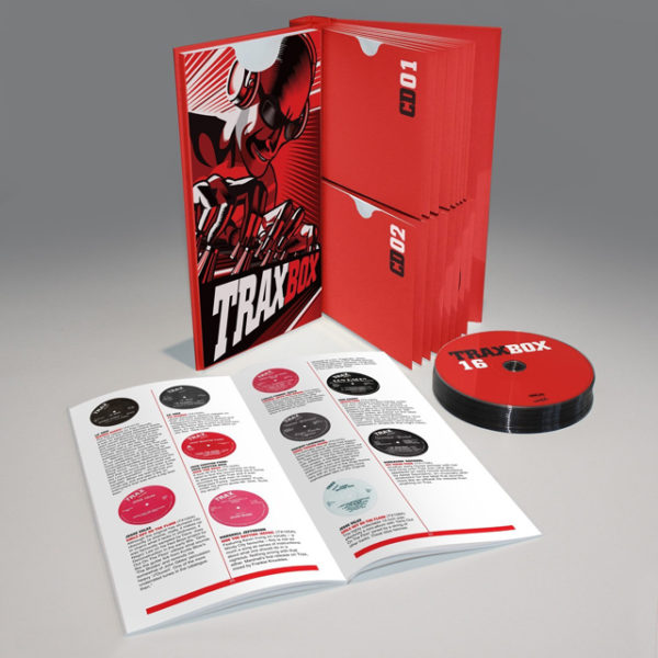 TRAX RECORDS BOX SET: FIRST 75 COMPLETE 12″ RELEASES