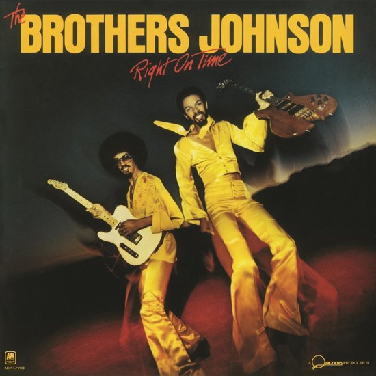 Brothers Johnson – Right On Time (LP)