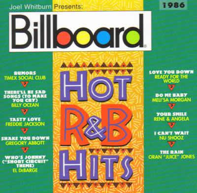 Billboard – Hot R&B Hits 1986