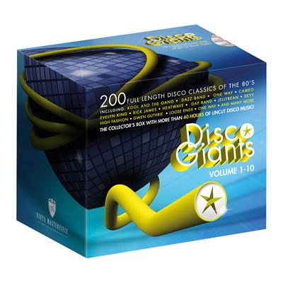 Empty Box – Disco Giants Collectors Box Volume 1 – 10