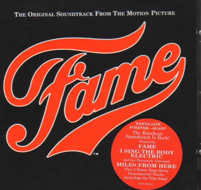 Fame – The original soundtrack from the motion picture