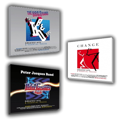 Greatest & Essential B2Q Band / Change / Peter Jacques Band CDs