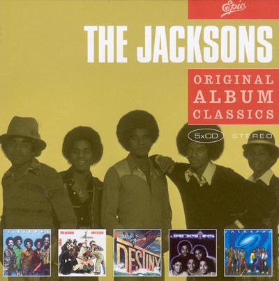 Jacksons (The) – Original Album Classics (5CD)