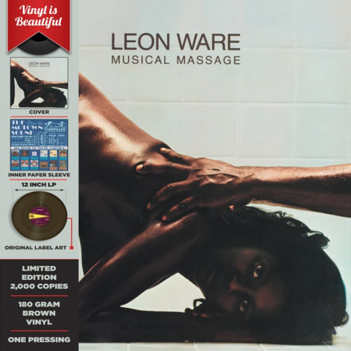 LEON WARE – Musical Massage LP – LTD