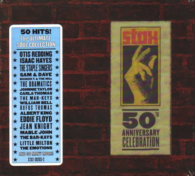 Stax – 50th Anniversary Celebration (CD)