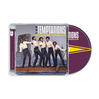 Temptations – The Surface Thrills (PTG CD)