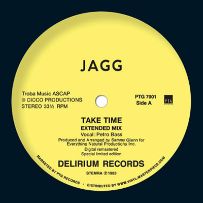 Jagg – Take Time (Vinyl / PTG Records)