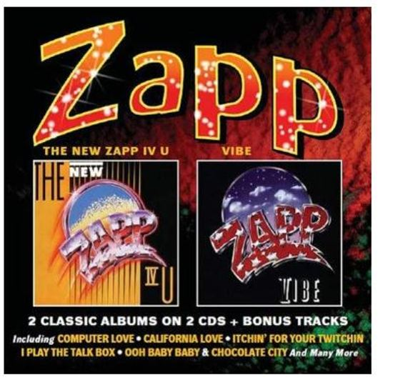 Zapp – New Zapp Iv U / Vibe – Deluxe