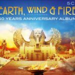 Earth, Wind & Fire 50 years Anniversary CD cover