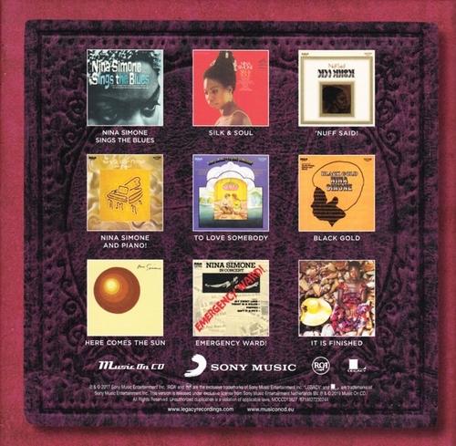 Nina Simone RCA Album-back
