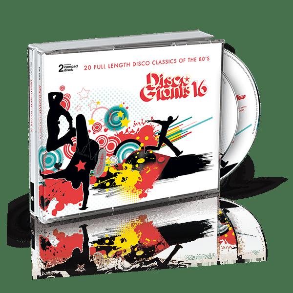 Disco Giants 16 CD cover