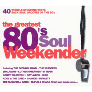 greatest 80s soul weekender cd cover