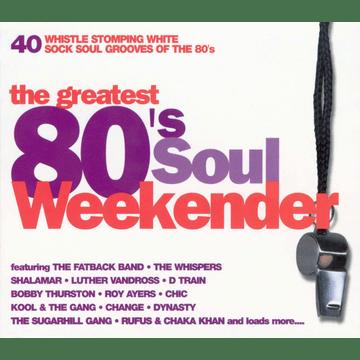 greatest 80s soul weekender cd cover