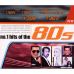 No. 1 Hits of the 80's cd cover