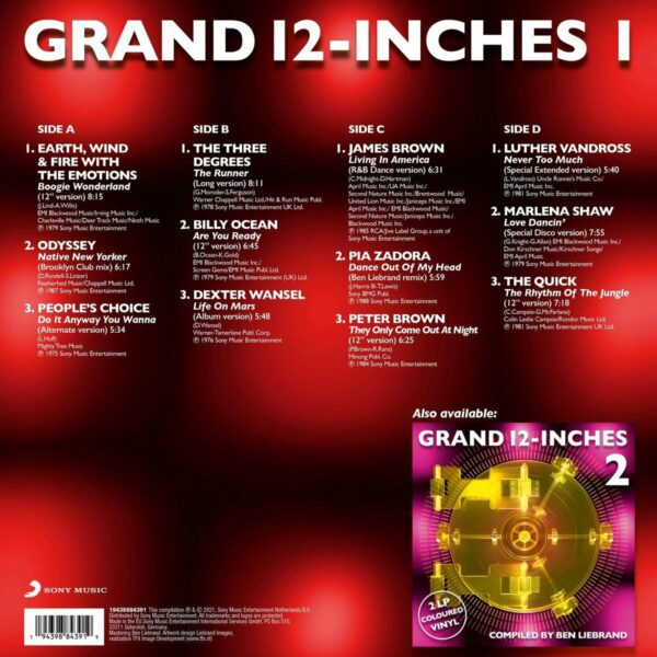 Grand 12 inches 1 back