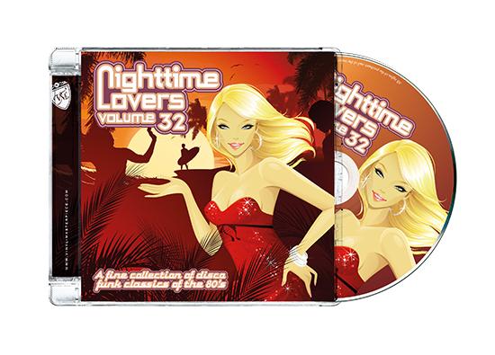 Nighttime Lovers 32 Jewel+cd