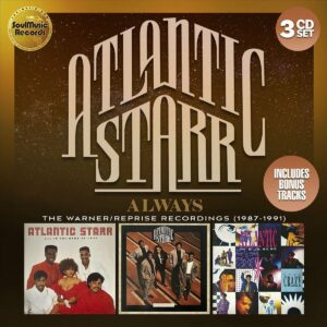 Atlantic Starr always cd cover